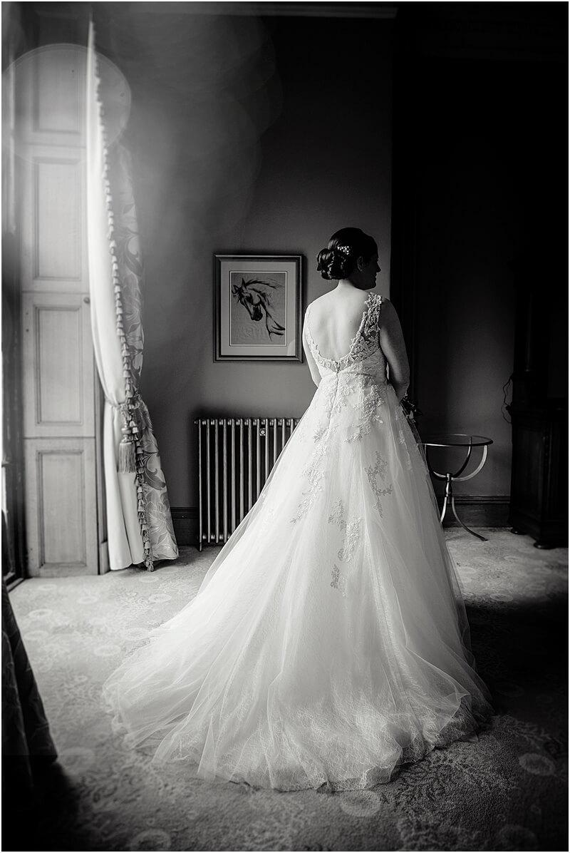 classic bride photo at haigh hall