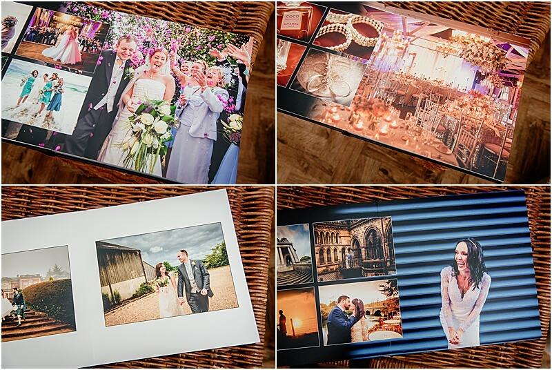 manchester wedding photographer mick cookson album layout