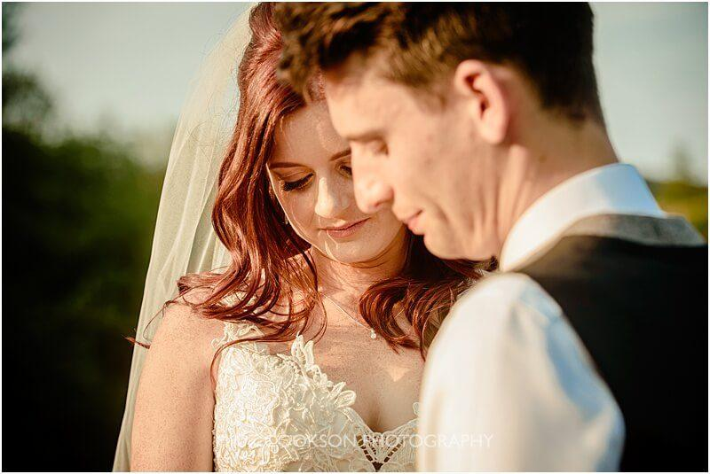 stunning bride and groom wedding photo at the fishermans retreat by mick cookson