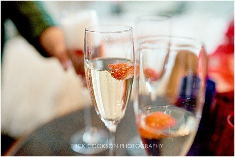 champagne at king street town house taken by manchester wedding photographer mick cookson