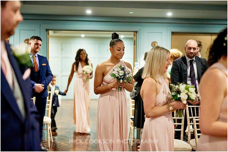 bridesmaids at king street town house