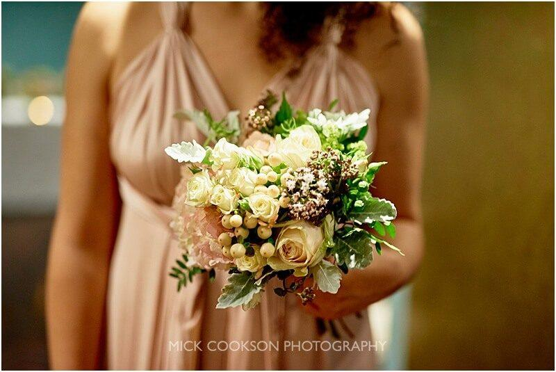 wedding flowers at king street town house