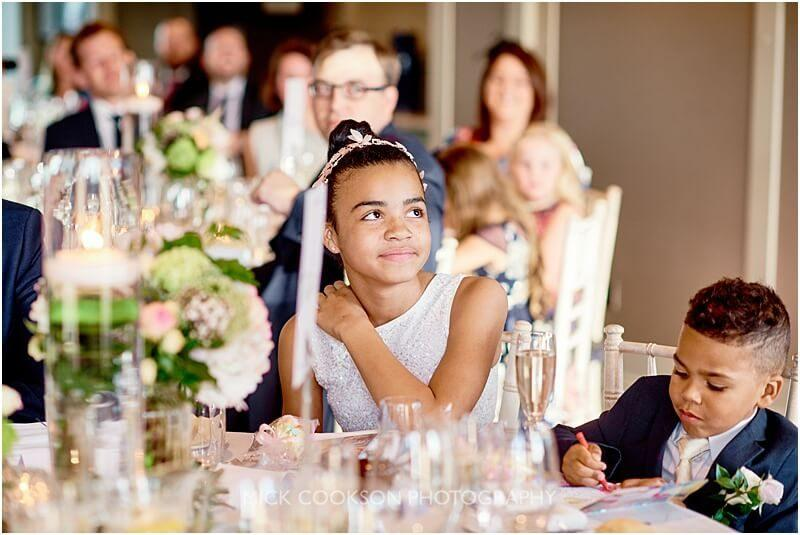 flower girl at a king street townhouse wedding
