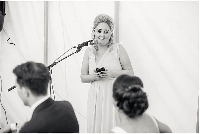 maid of honour speech at a weddding