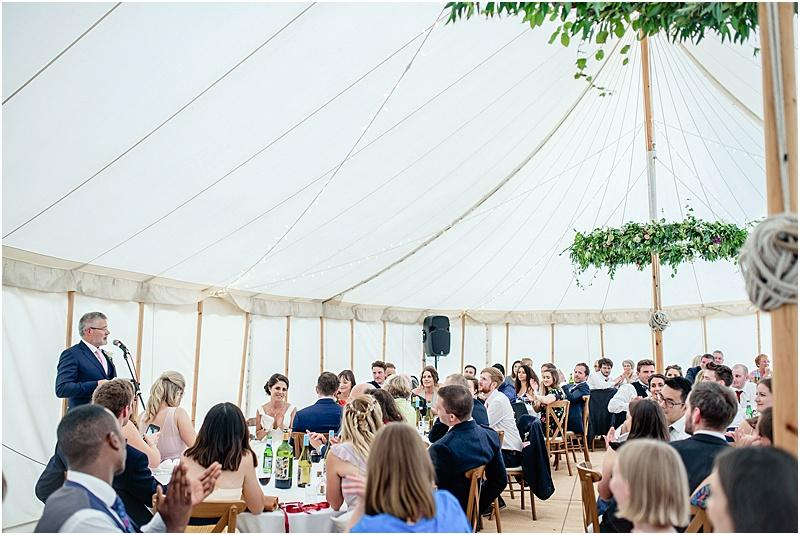 father of the bride speech at a marquee wedding