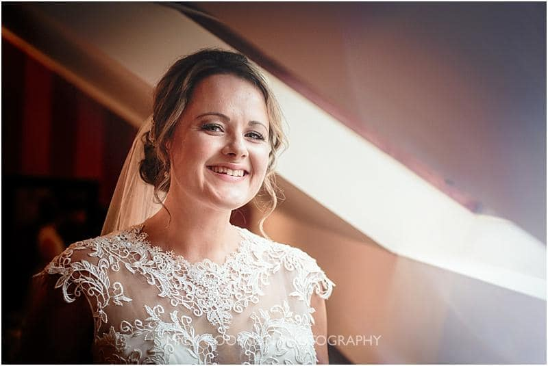 beautiful bride at gibbon bridge wedding venue