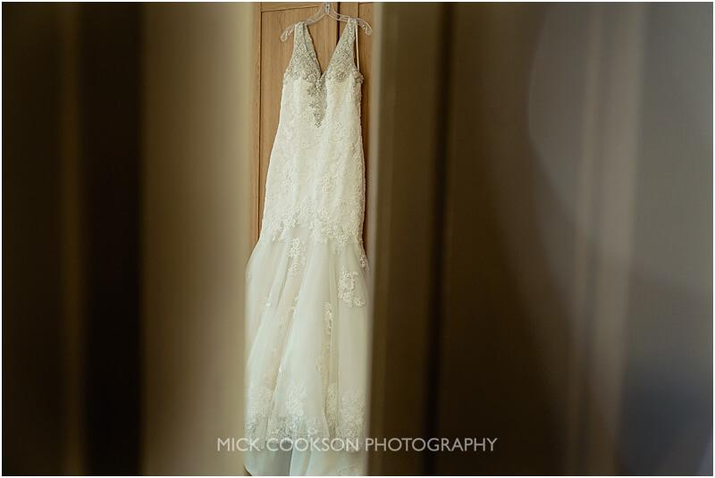 wedding dress at stirk house