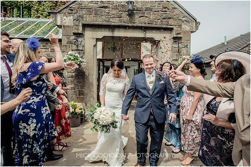 confetti throw at stirk house