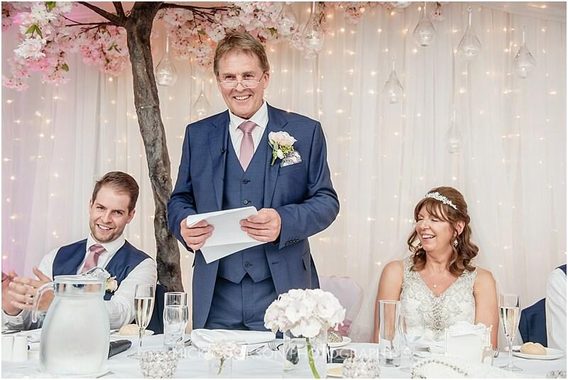 wedding speech at stirk house