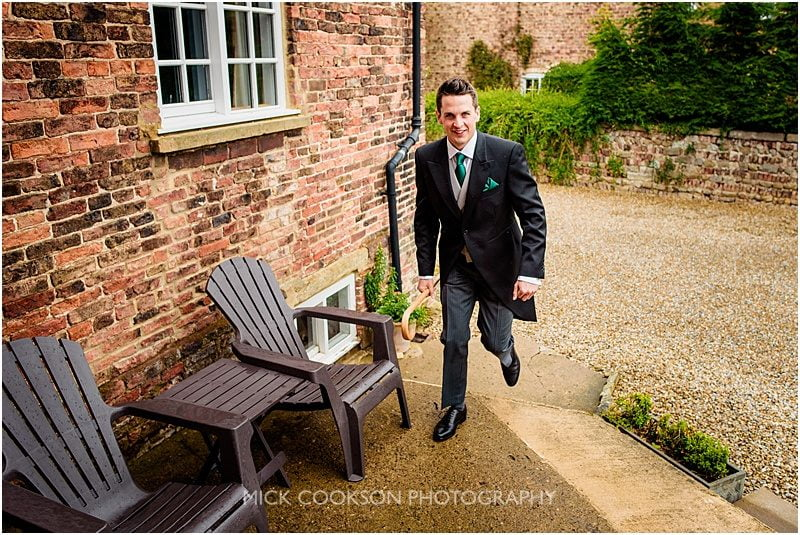 groom on a farm in york