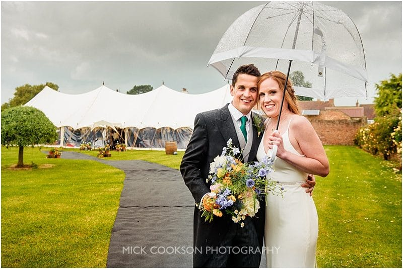 marquee wedding in york