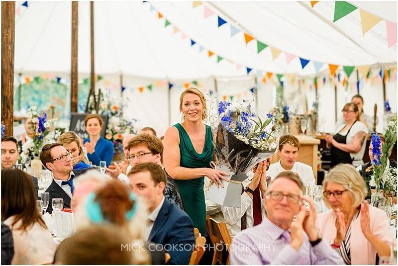 a marquee wedding in york