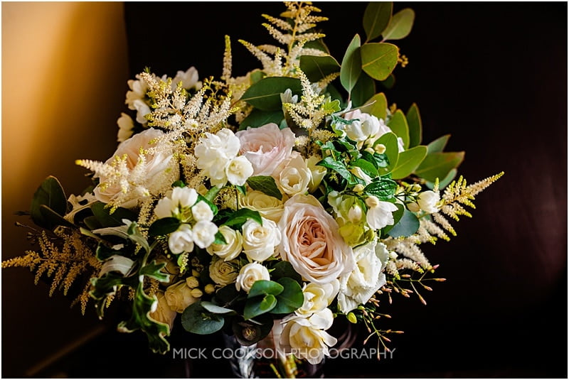 wedding bouquet at ashfield house