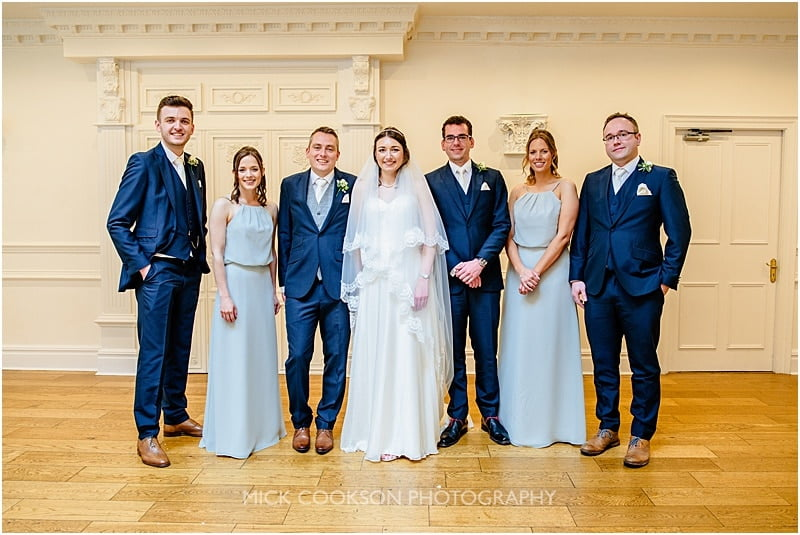 formal wedding photos at ashfield house