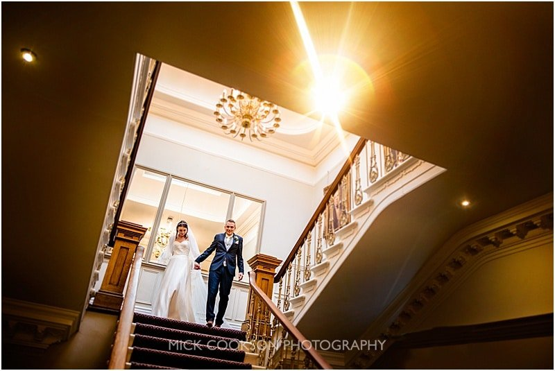 stylish wedding photo taken at ashfield house