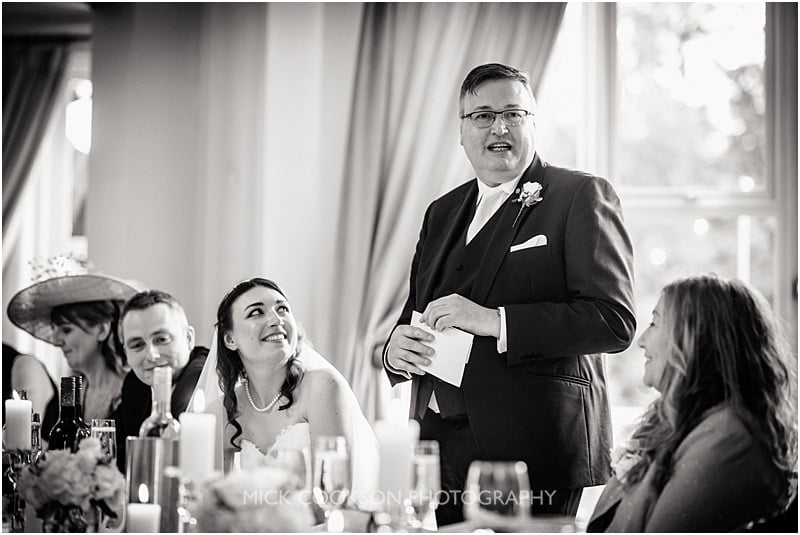 wedding speeches at ashfield house