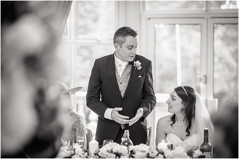 groom wedding speeches at ashfield house