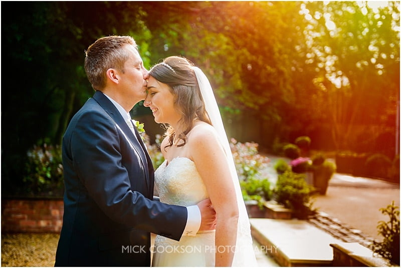 stunning wedding photo at ashfield house