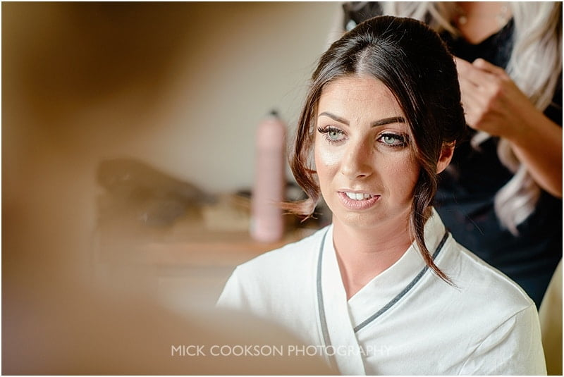 bridal preparations photo