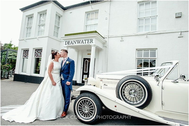 deanwater hotel wedding photographer