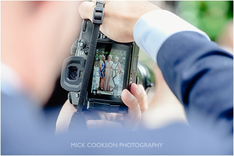 guests photos at a deanwater hotel wedding