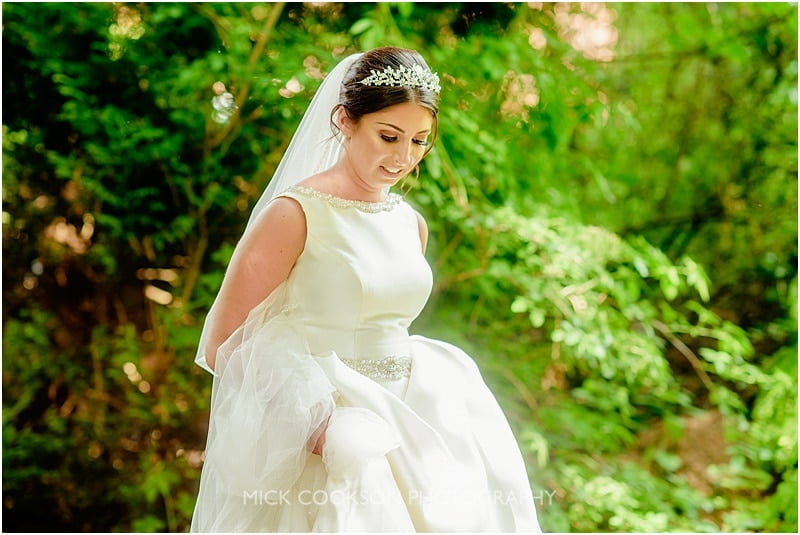 stunning bride at the deanwater hotel