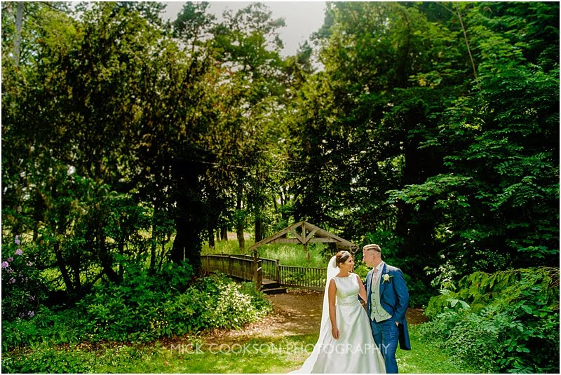 bride and groom deanwater hotel wedding photograph