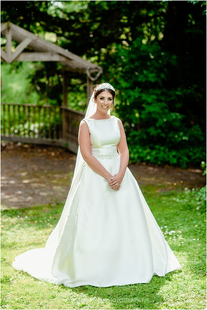 bride photo deanwater hotel wedding