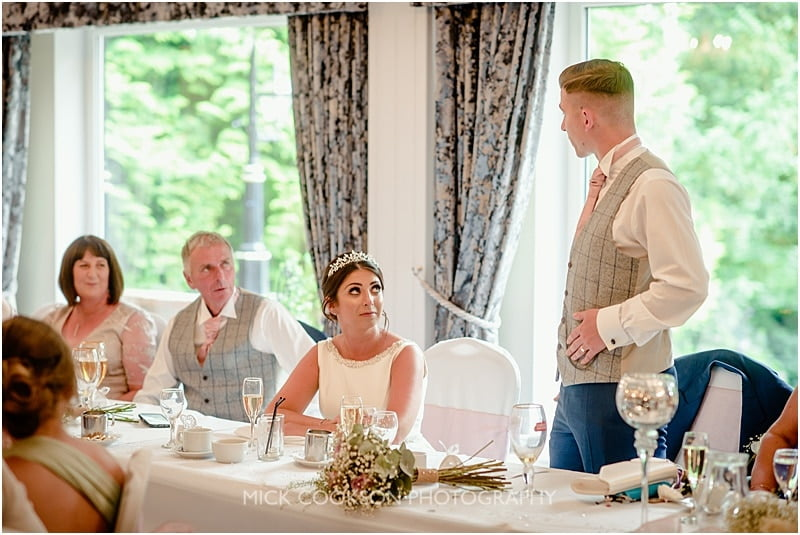 wedding speech at the deanwater hotel