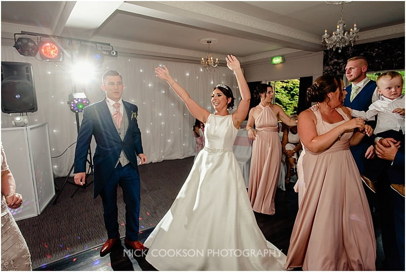 dancing at a deanwater hotel wedding
