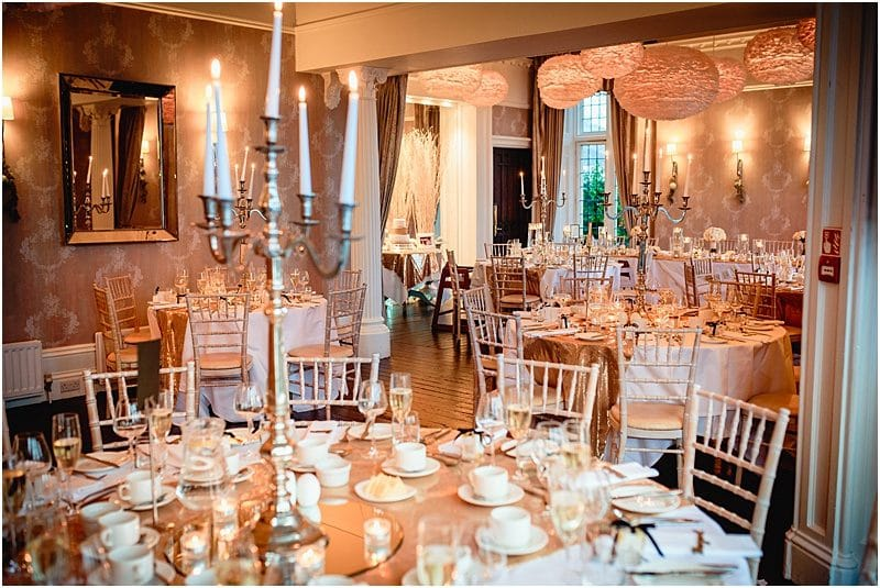 wedding reception at falcon manor