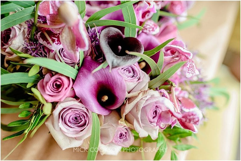 wedding bouquet at a mitton hall wedding