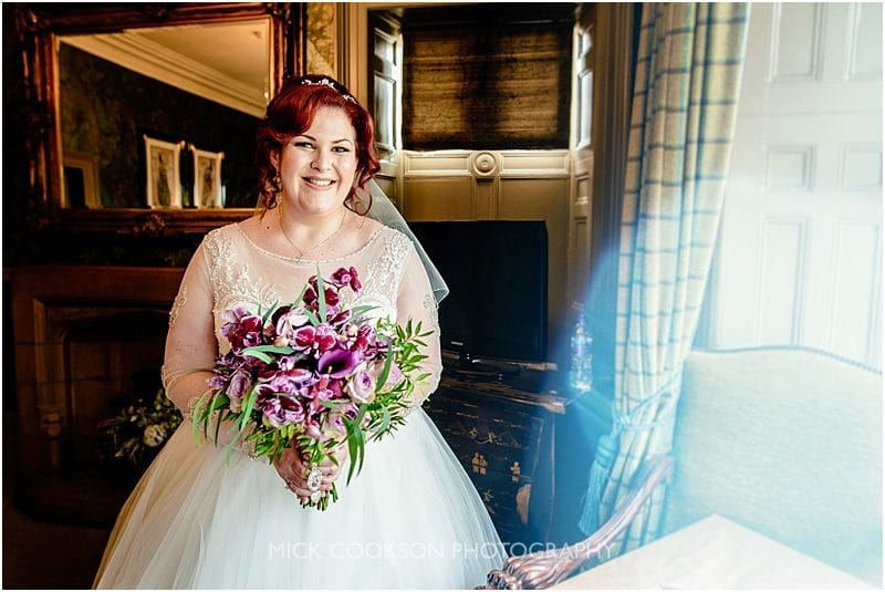 bride photo at mitton hall