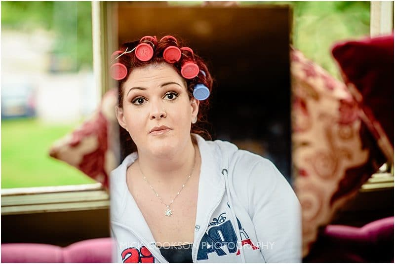 bridal preps at mitton hall