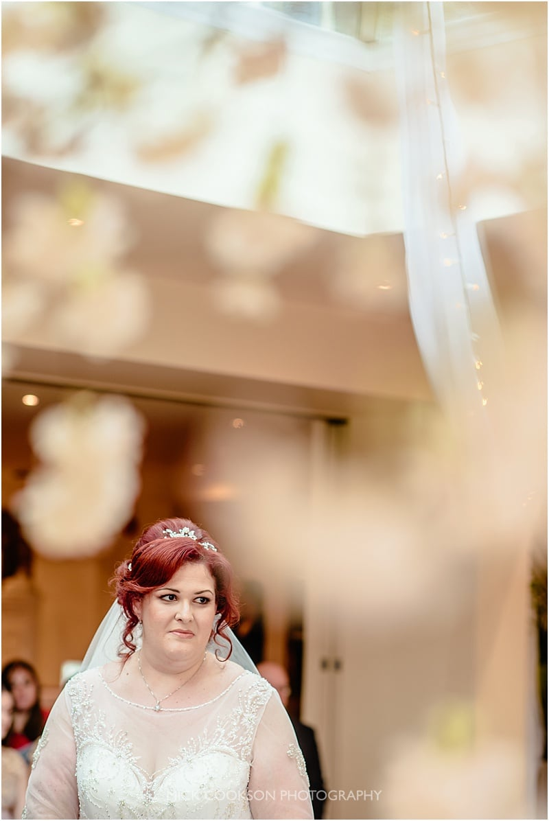 bride at mitton hall
