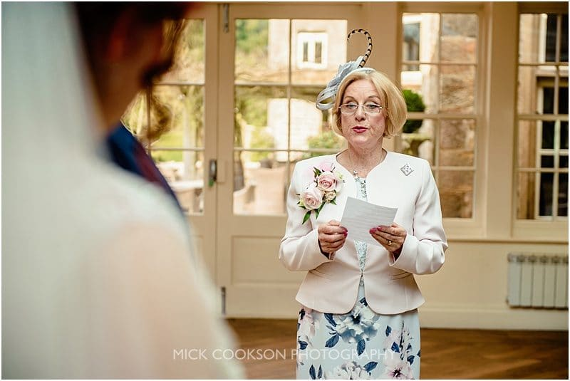 mother of the groom reads at mitton hall