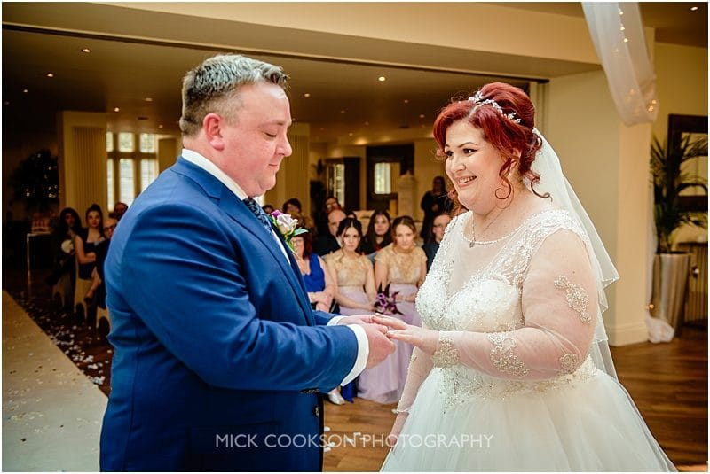 putting the ring on at mitton hall