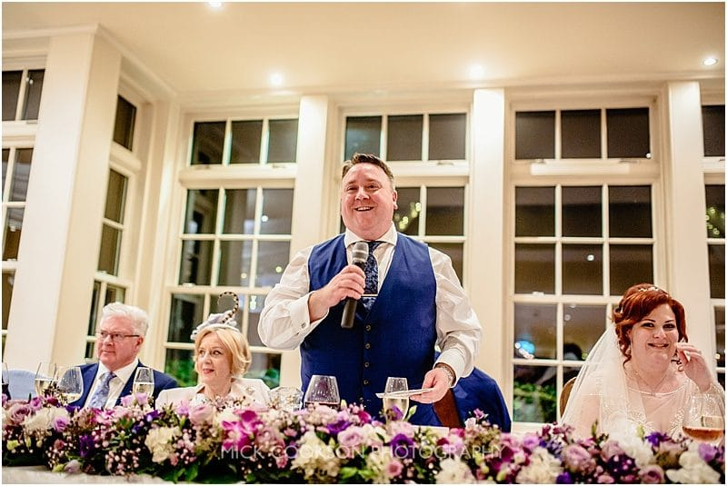 groom speech at mitton hall