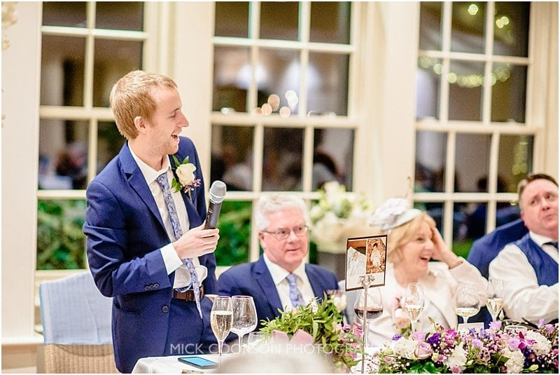 best man speech at mitton hall