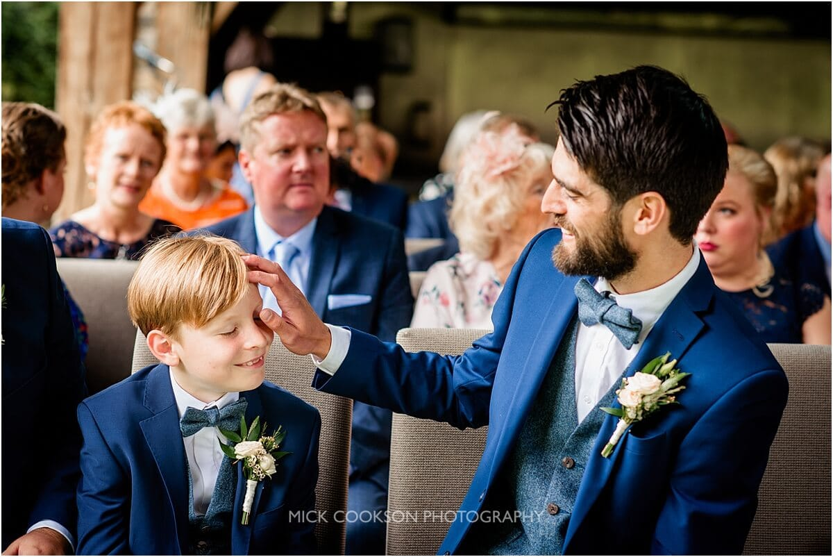 groom and his son at the white hart at lydgate