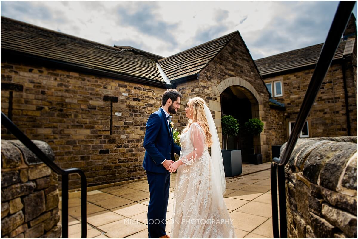 wedding photos at the white hart at lydgate