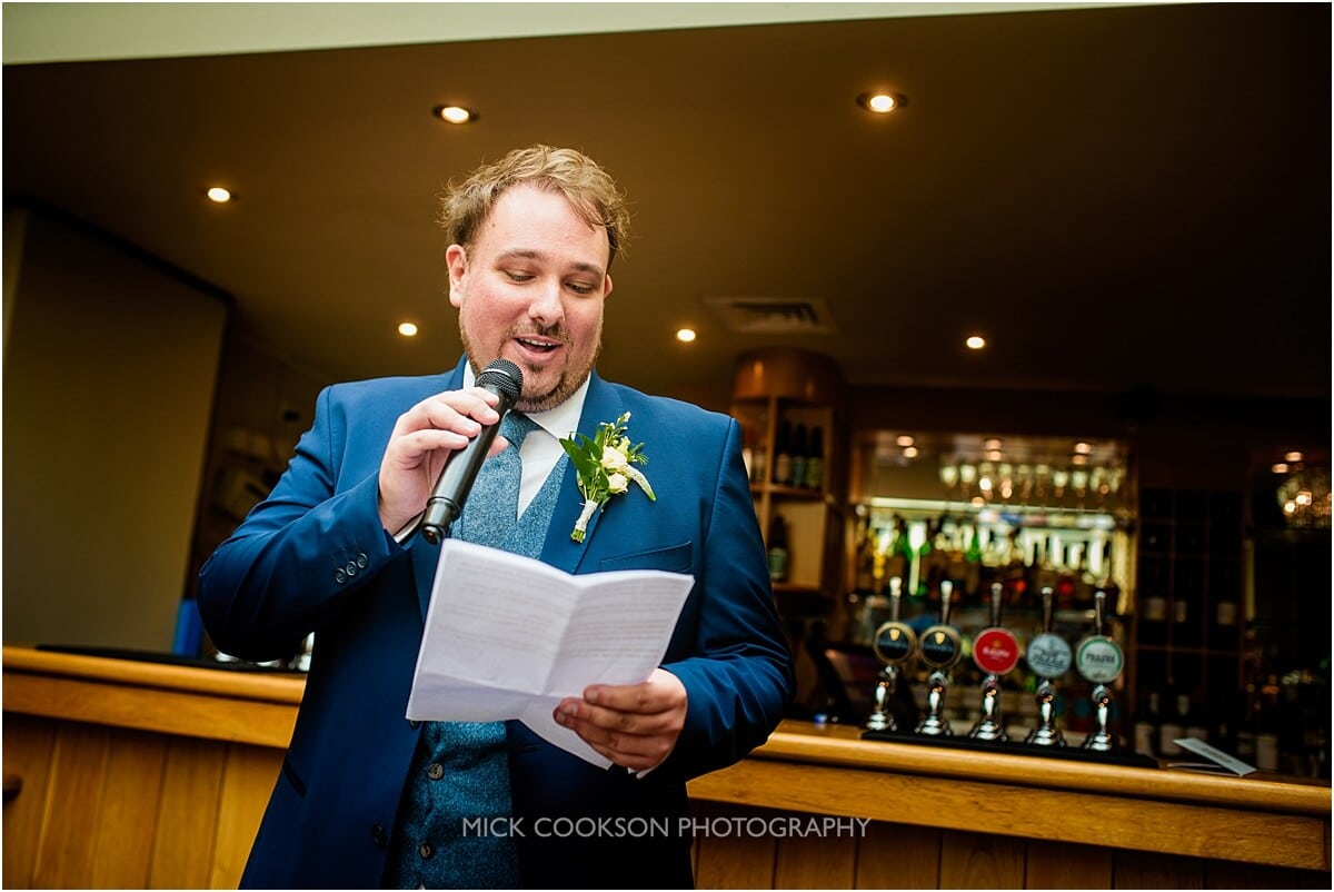 best man at weddings at the white hart lydgate