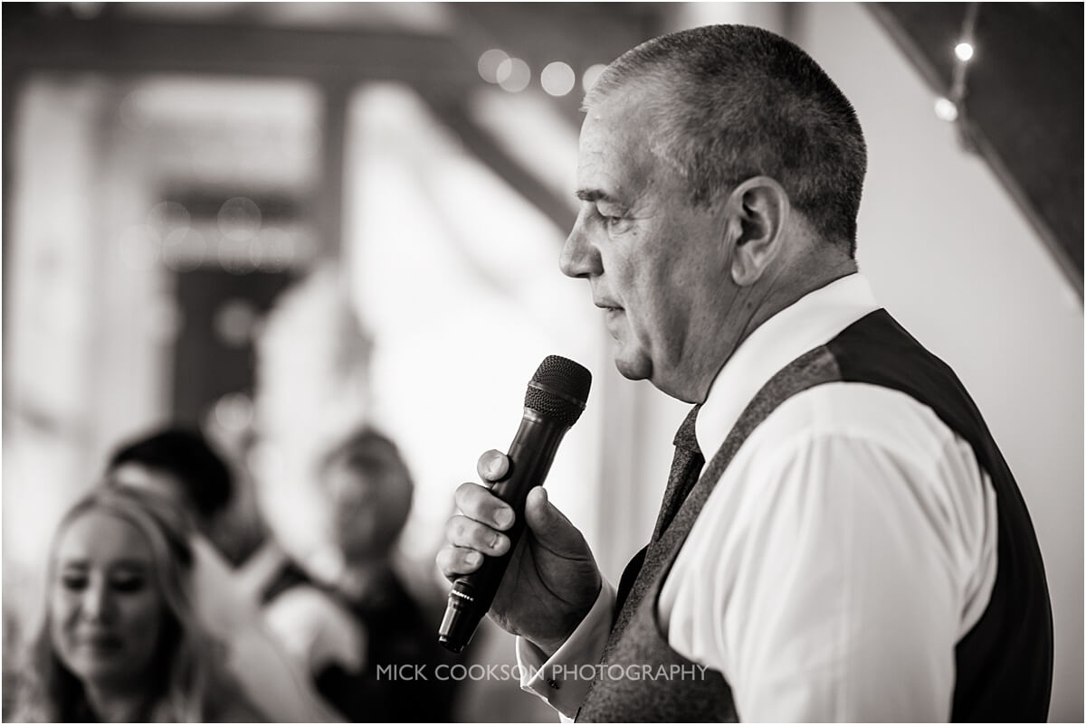 father of the bride at weddings at the white hart lydgate
