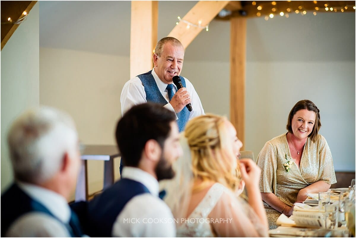 father of the bride speech at weddings at the white hart lydgate