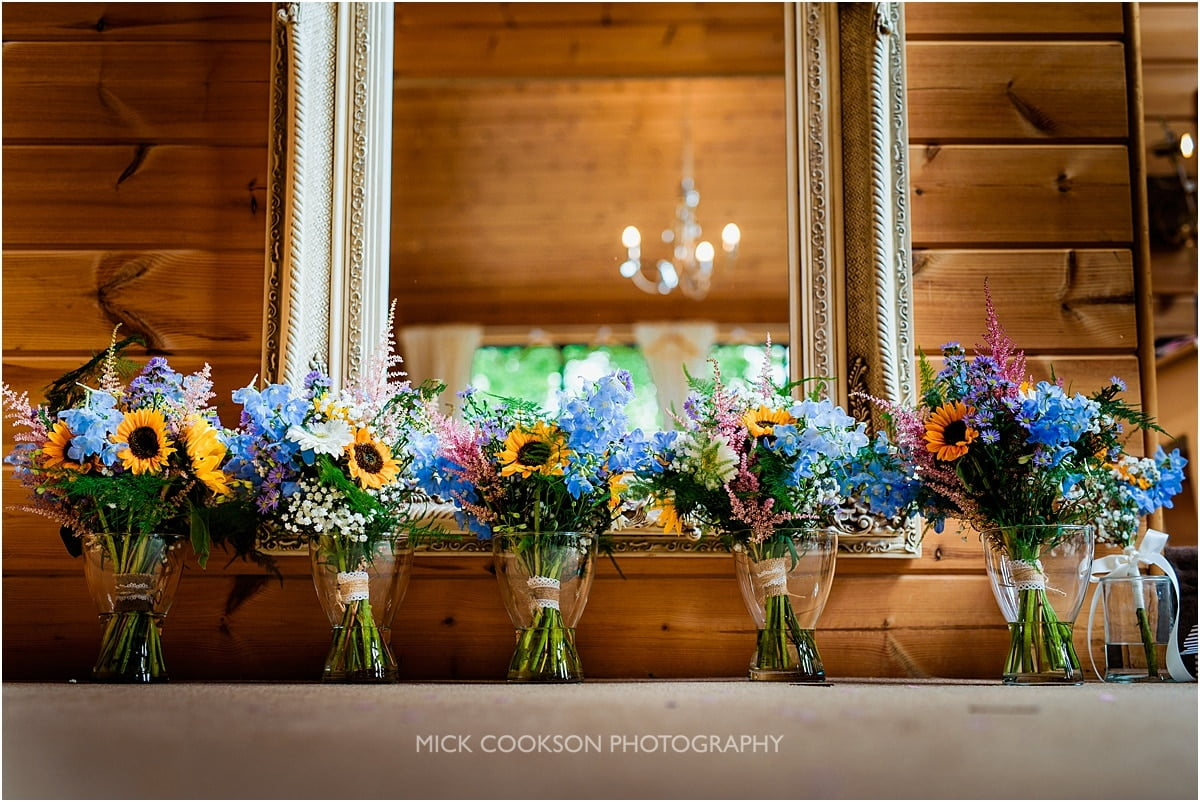 wedding flowers at Styal Lodge