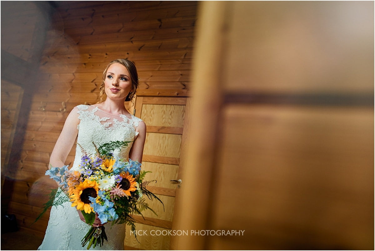 stunning bride photo at Styal Lodge
