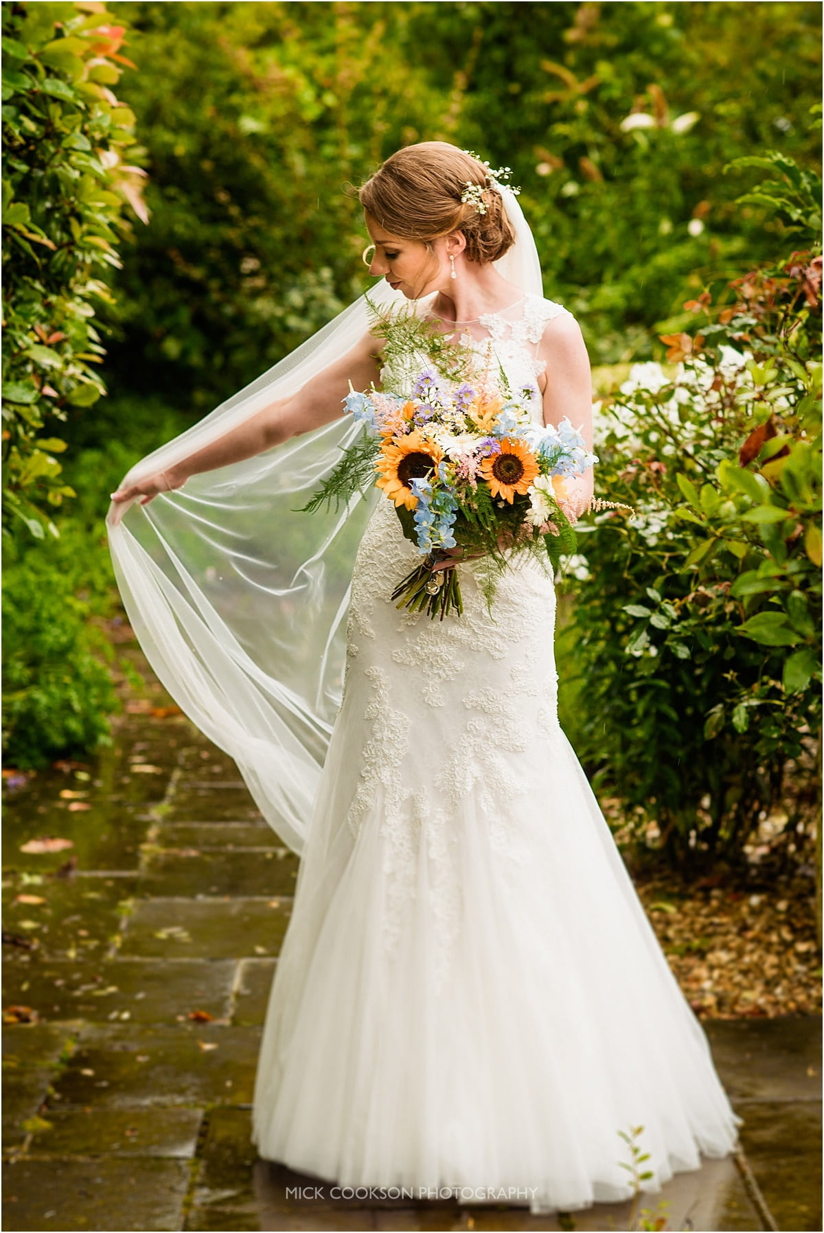 stunning bride at Styal Lodge