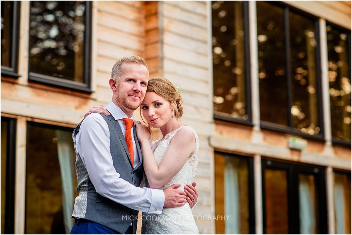 becky and will at Styal Lodge