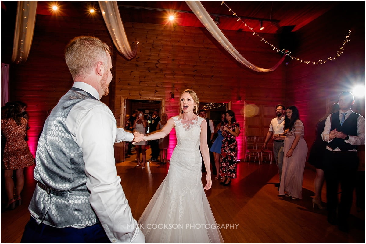 first dance photo at Styal Lodge