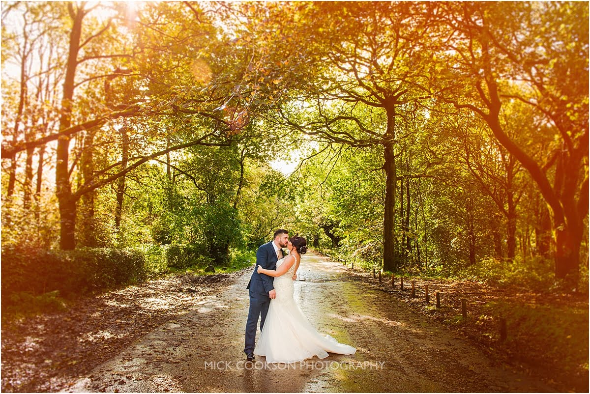 wedding photos at rivington hall barn
